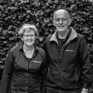 Henny en Gerda | van Rijn fietsen | Vrouwenakker